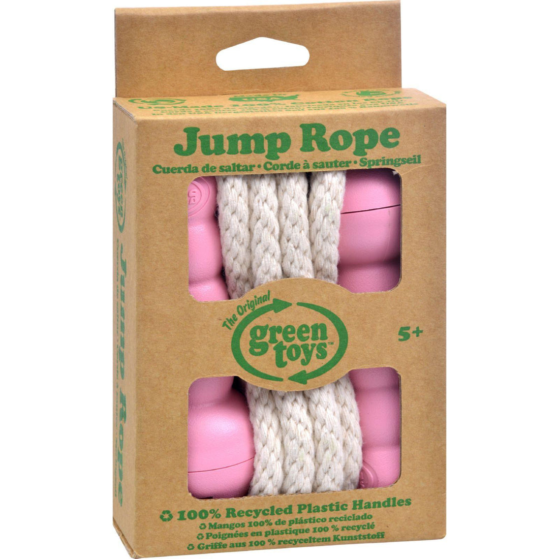 Mother Mantis: Green Toys Jump Rope - Pink Green Toys