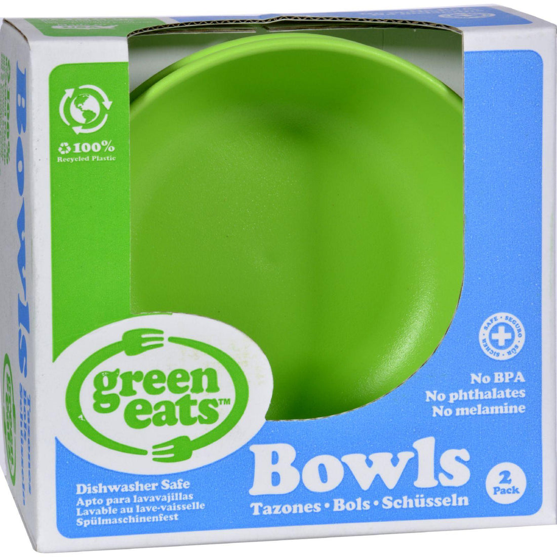 Mother Mantis: Green Toys Bowls - Green - 2 Ct Green Toys