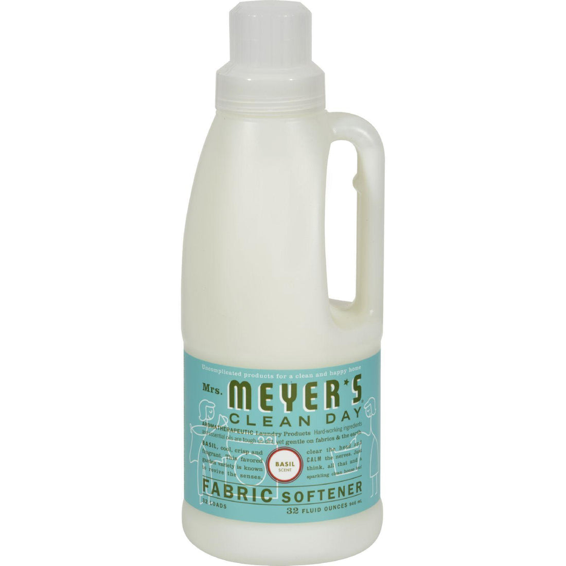 Mother Mantis: Mrs. Meyer's Fabric Softener - Basil - 32 Oz Mrs. Meyer's