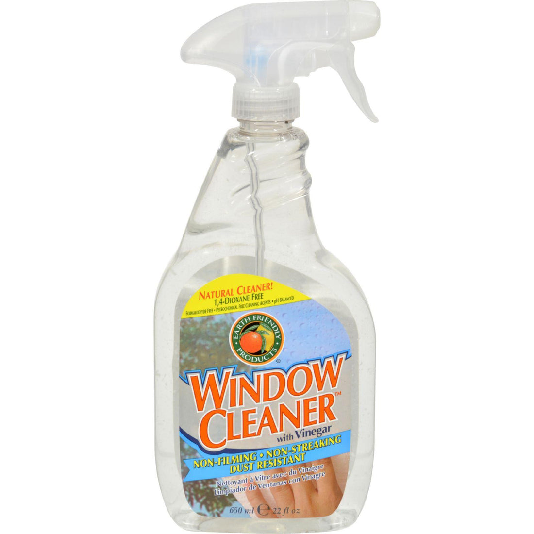 Mother Mantis: Earth Friendly Window Cleaner - Vinegar - 22 Fl Oz Earth Friendly