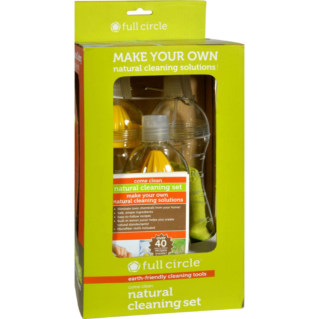 Mother Mantis: Full Circle Home Come Clean Cleaning Set - 3 Pack Full Circle Home