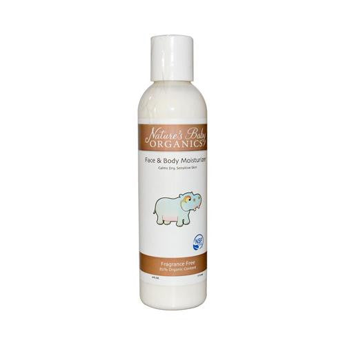 Mother Mantis: Nature's Baby Organics Face And Body Lotion - Fragrance Free - 6 Fl Oz Nature's Baby Organics