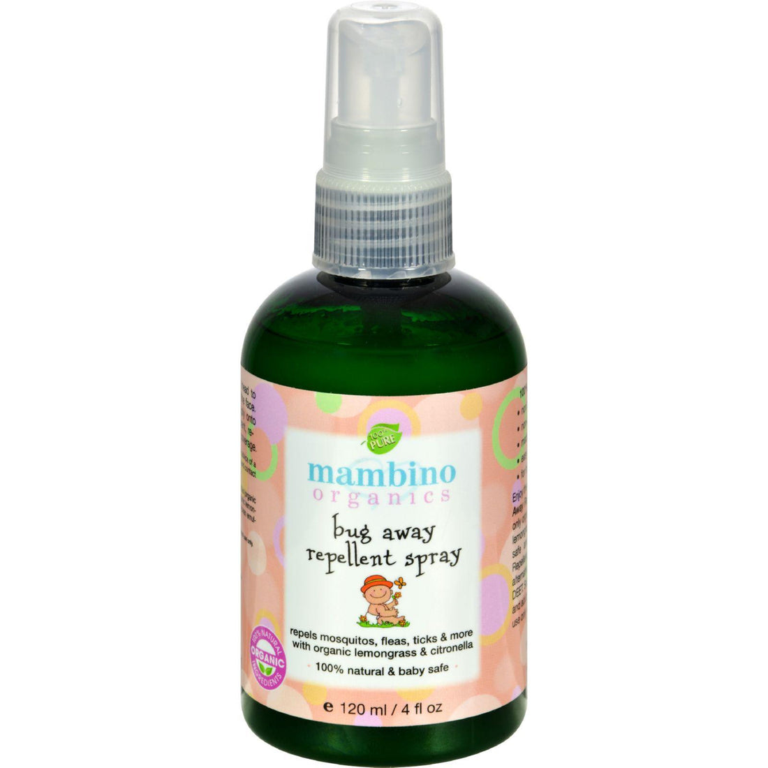 Mother Mantis: Mambino Organics Bug Away Insect Repellent Spray - 4 Fl Oz Mambino Organics