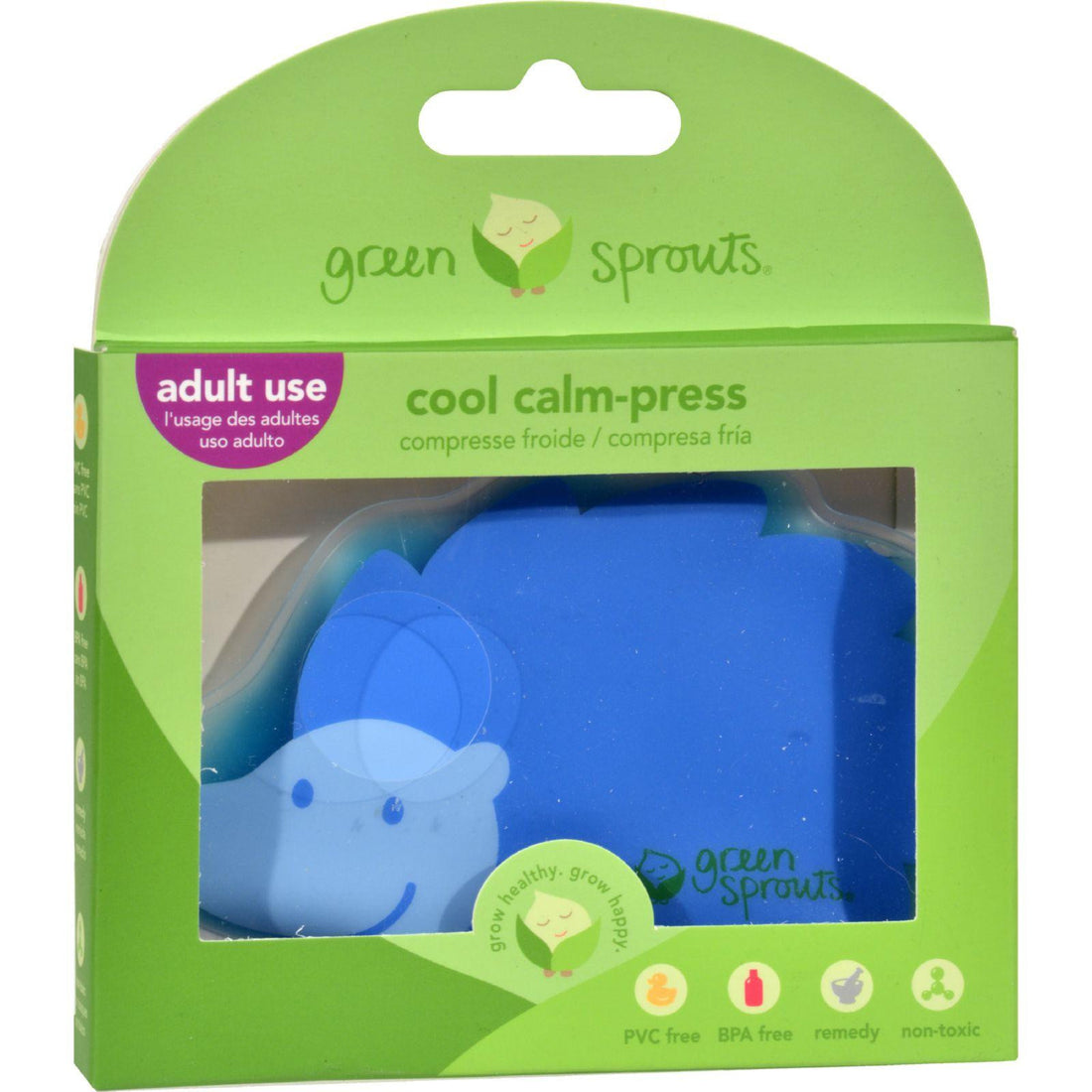 Mother Mantis: Green Sprouts Cool Calm Press - Assorted Colors Green Sprouts