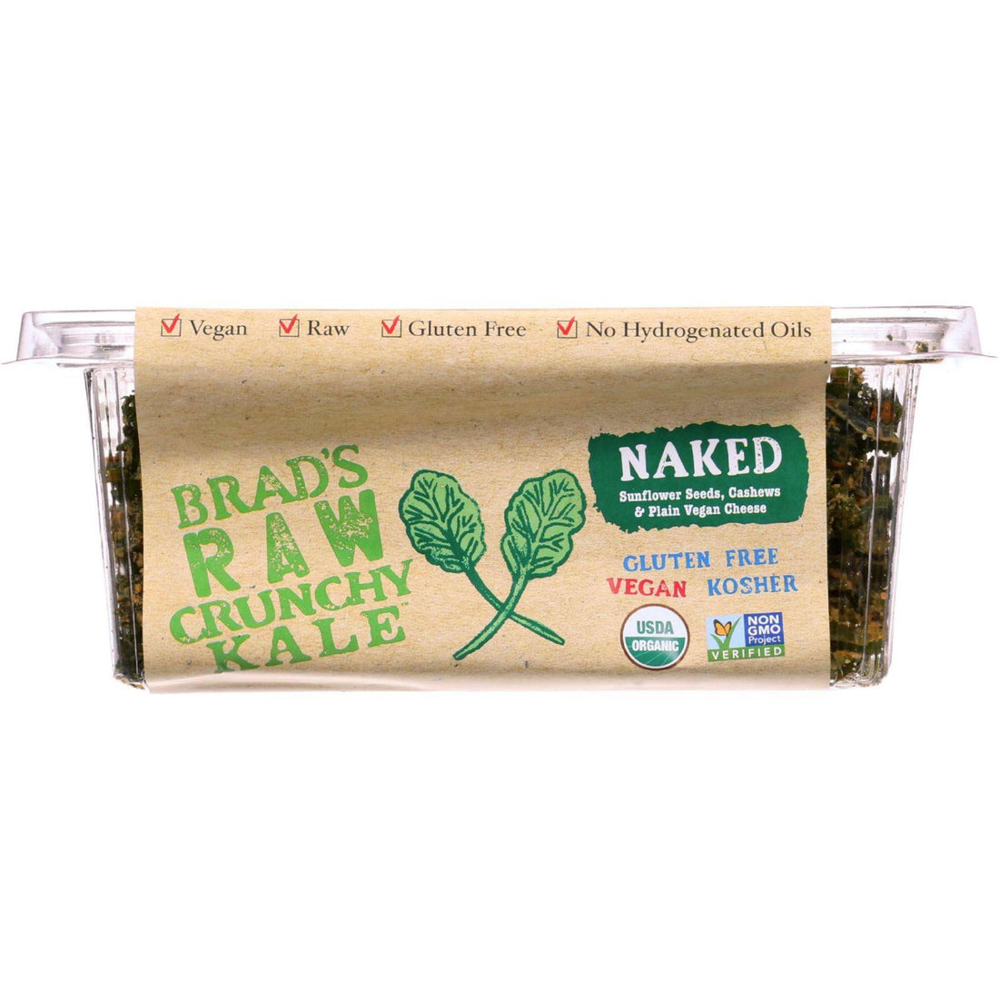 Mother Mantis: Brads Raw Foods Leafy Kale - Organic -raw - Naked - 2.5 Oz - Case Of 12 Brad's Raw Foods