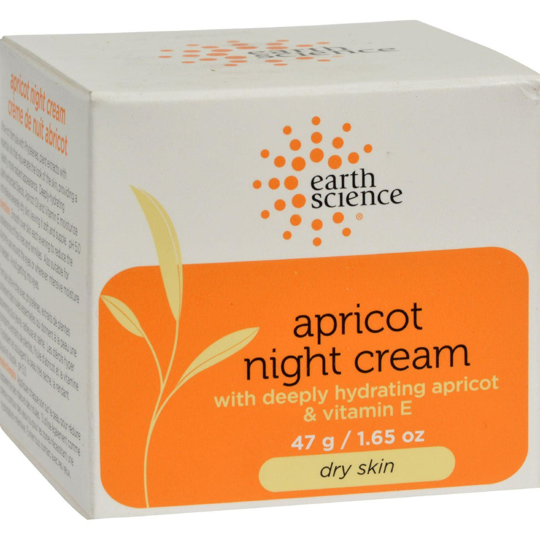 Mother Mantis: Earth Science Apricot Night Cream - 1.65 Oz Earth Science