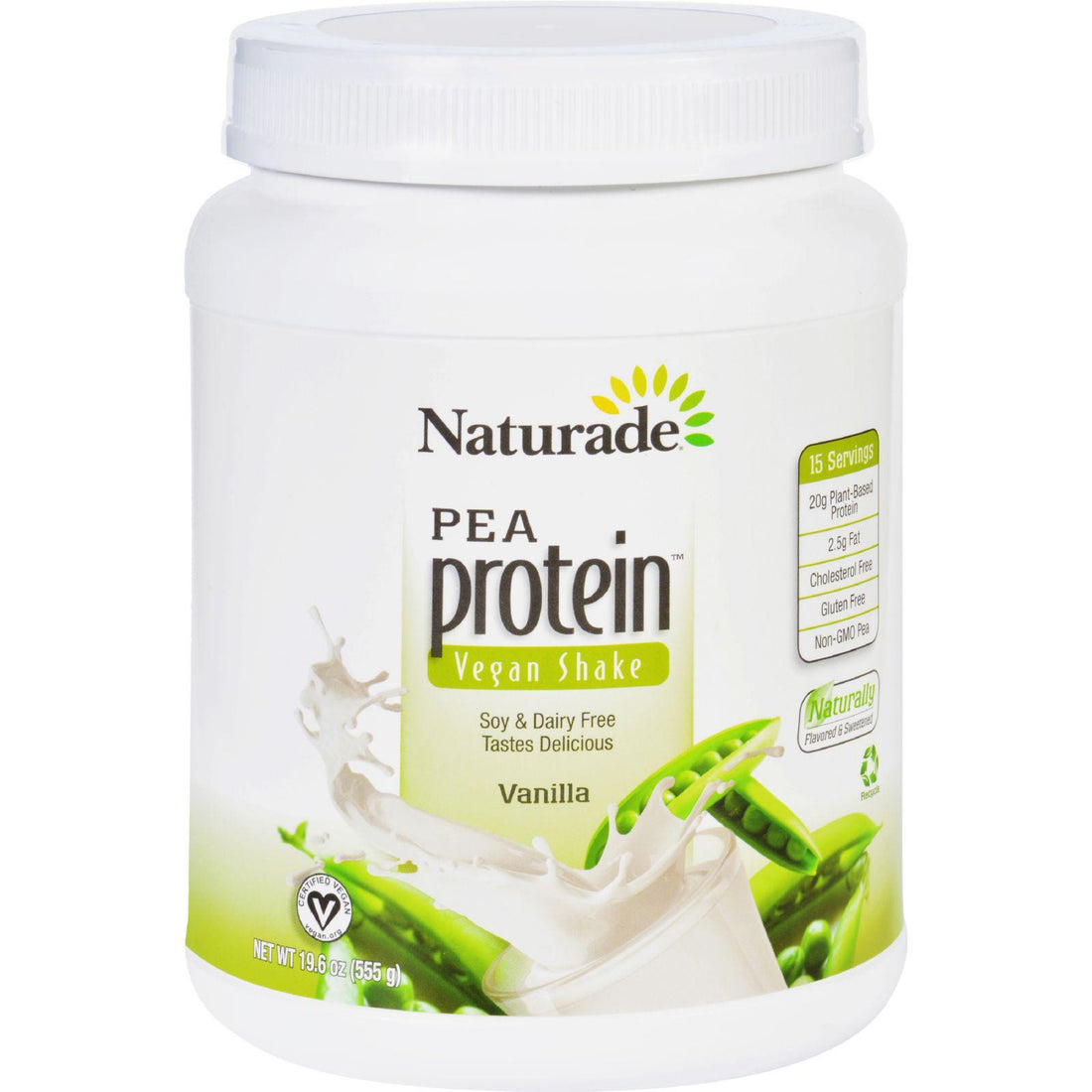 Mother Mantis: Naturade Pea Protein - Vanilla - Jug - 19.57 Oz Naturade