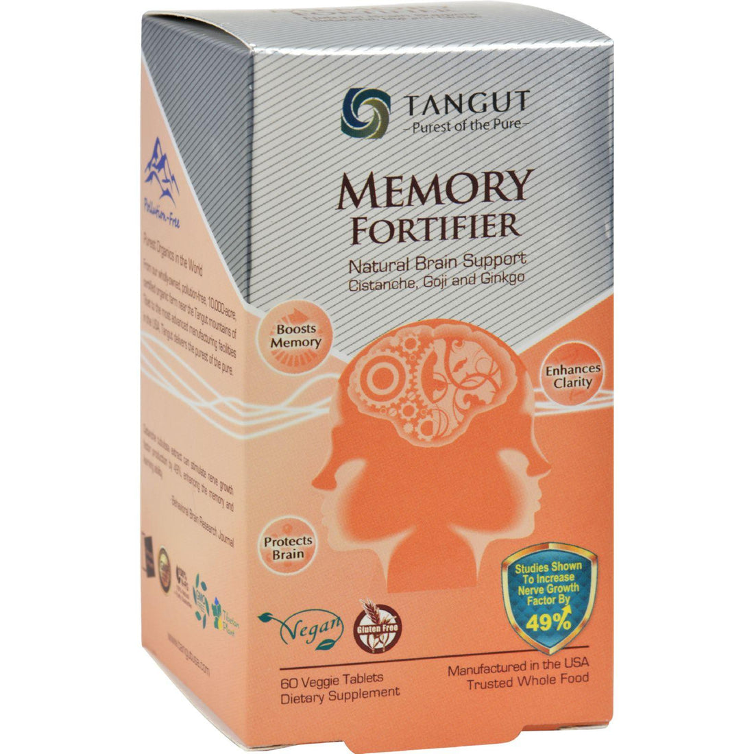 Mother Mantis: Tangut Memory Fortifier - 60 Tablets Tangut