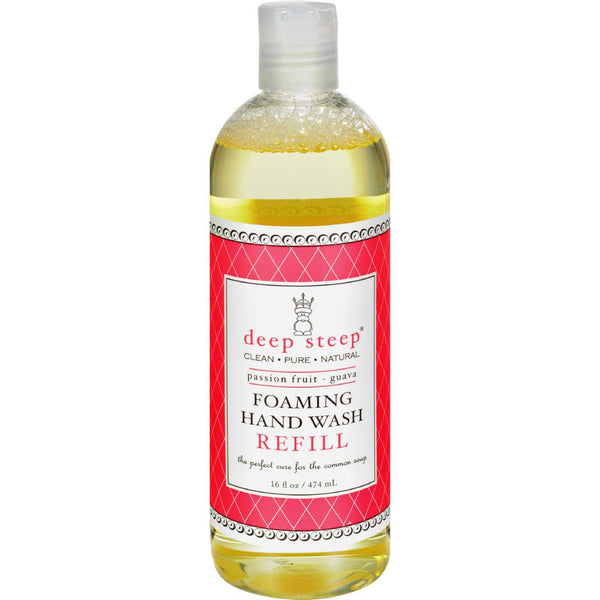 Mother Mantis: Deep Steep Foaming Hand Wash - Refill - Passion Fruit Guava - 16 Fl Oz Deep Steep