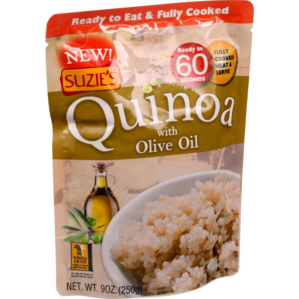 Mother Mantis: Rte Quinoa-olv Oil Suzie's