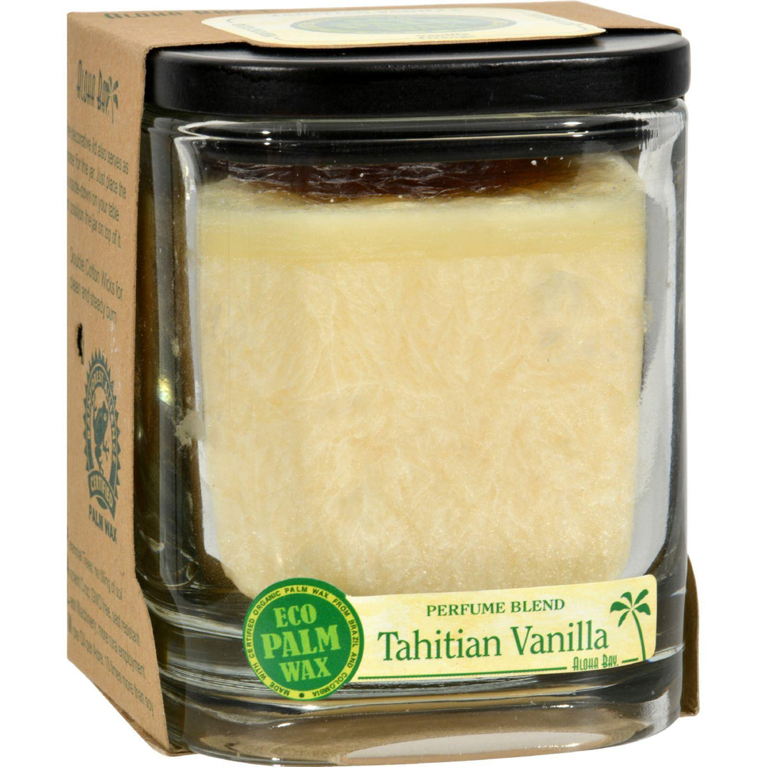 Mother Mantis: Aloha Bay Candle - Jar Tahitian Vanilla - 8 Oz Aloha Bay