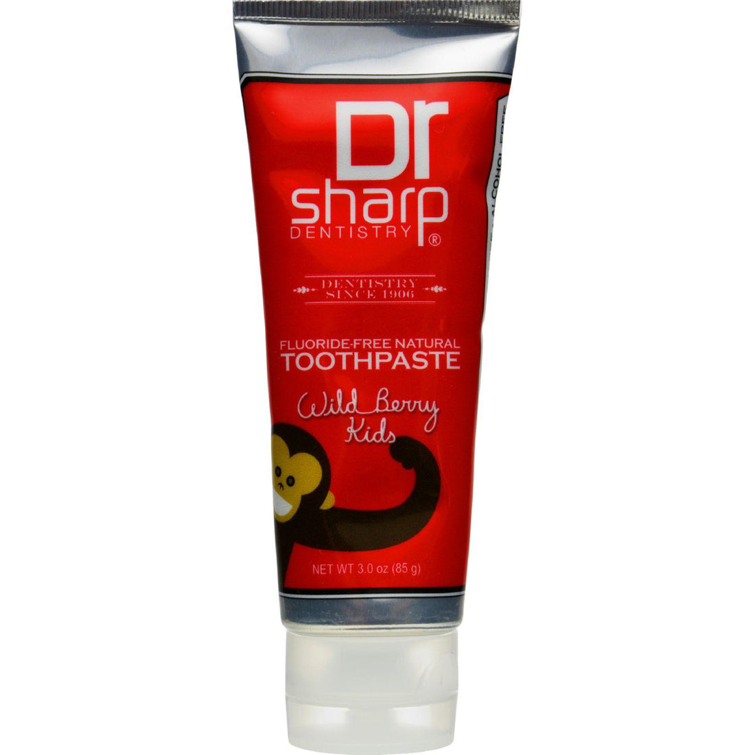 Mother Mantis: Dr. Sharp Natural Oral Care Toothpaste - Kids Wild Berry Flouride Free - 3 Oz Dr. Sharp