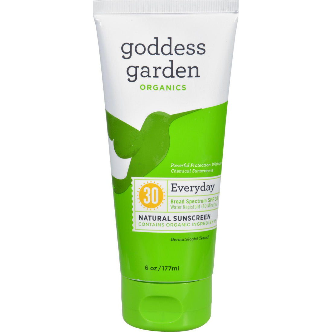 Mother Mantis: Goddess Garden Sunscreen - Organic - Natural - Sunny Body - Spf 30 - 6 Oz Goddess Garden