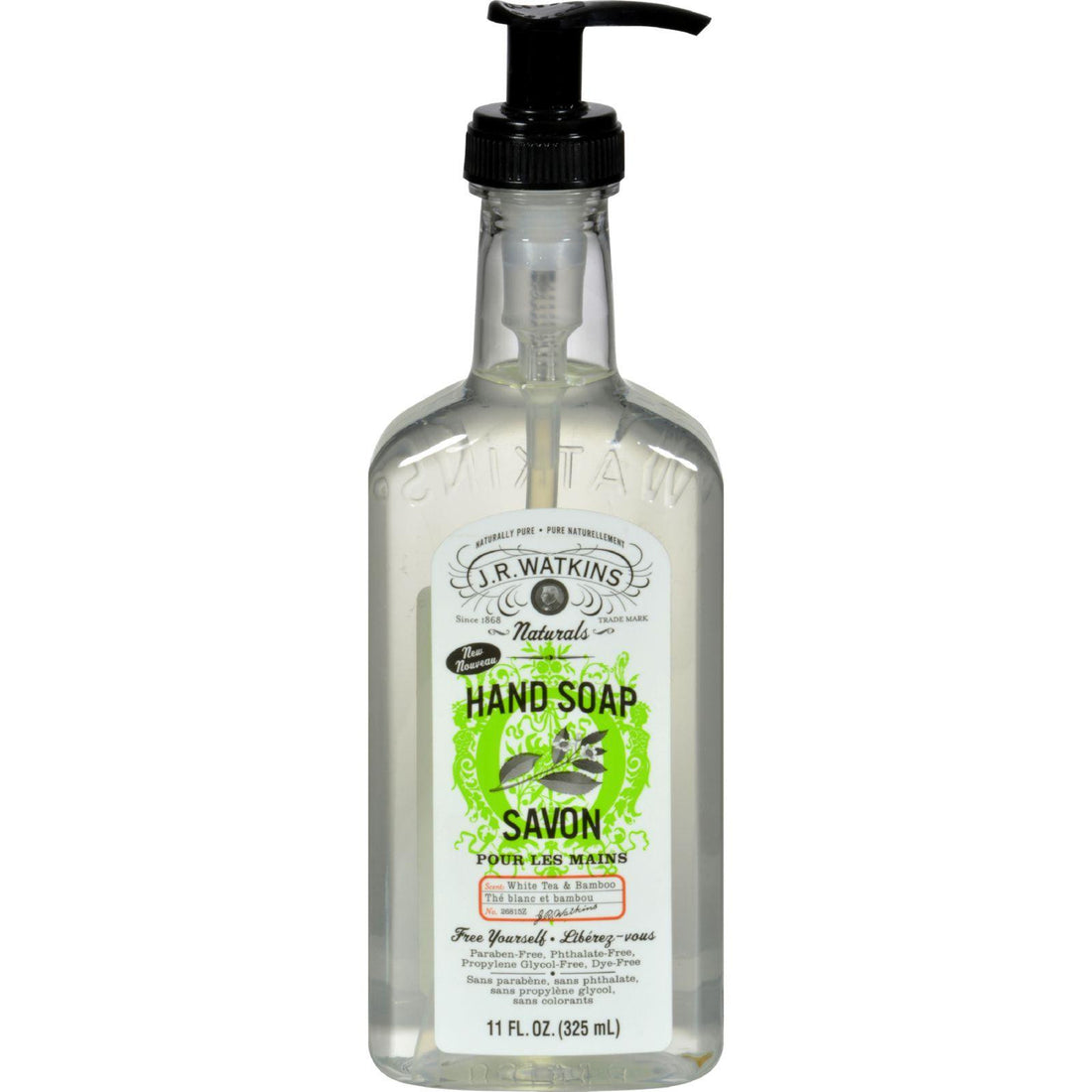 Mother Mantis: J.r. Watkins Liquid Hand Soap - White Tea And Bamboo - 11 Fl Oz J.r. Watkins