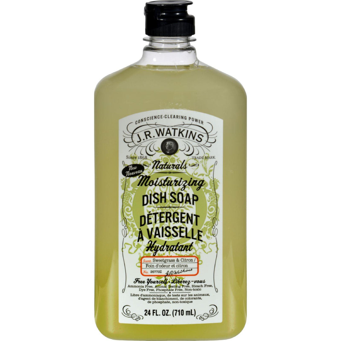 Mother Mantis: J.r. Watkins Dish Soap - Moisturizing - Sweetgrass And Citron - 24 Fl Oz J.r. Watkins