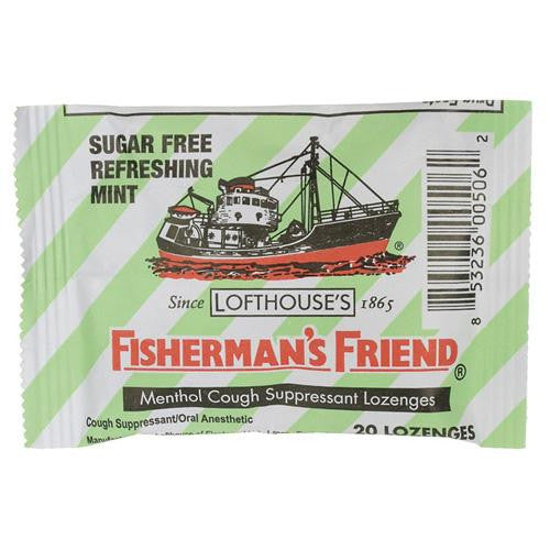 Mother Mantis: Fisherman's Friend Lozenges - Sugar Free Mint - Ctr Dsp - 20 Ct - 1 Case Fisherman's Friend