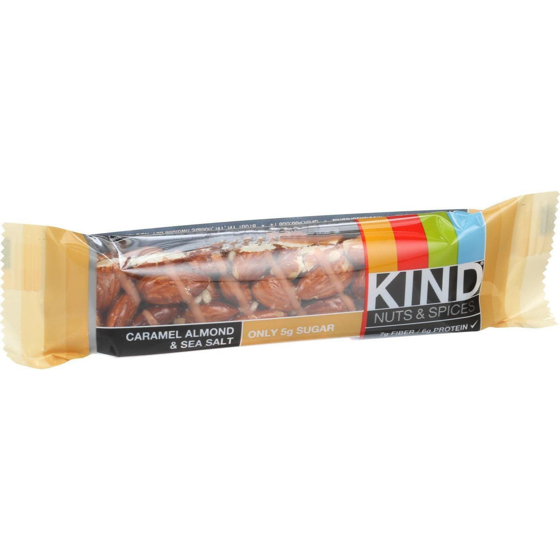 Mother Mantis: Kind Bar - Caramel Almond And Sea Salt - 1.4 Oz Bars - Case Of 12 Kind