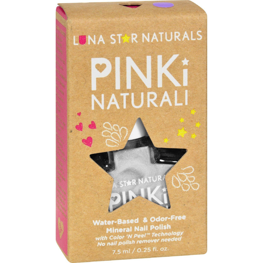Mother Mantis: Lunastar Pinki Naturali Nail Polish - Juneau (pearly White) - .25 Fl Oz Lunastar