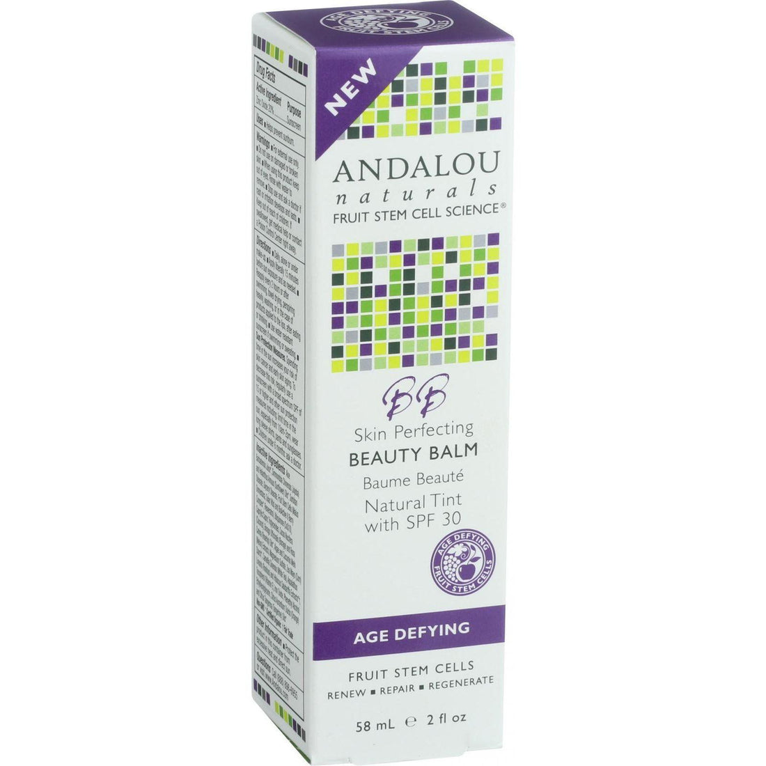 Mother Mantis: Andalou Naturals Skin Perfecting Beauty Balm - Natural Tint Spf 30 - 2 Oz Andalou Naturals