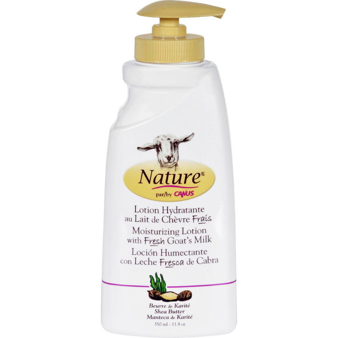 Mother Mantis: Nature By Canus Lotion - Goats Milk - Nature - Shea Butter - 11.8 Oz Nature By Canus