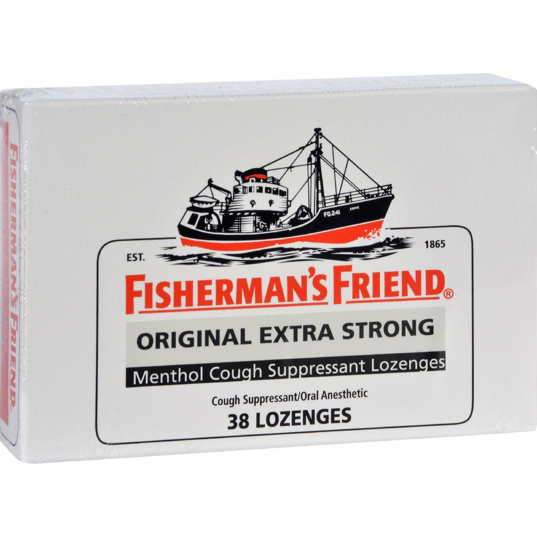 Mother Mantis: Fisherman's Friend Lozenges - Original Extra Strong - Dsp - 38 Ct - 1 Case Fisherman's Friend