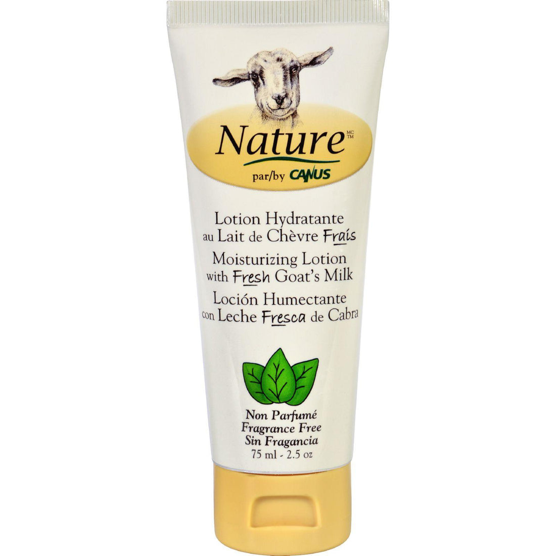 Mother Mantis: Nature By Canus Lotion - Goats Milk - Nature - Fragrance Free - 2.5 Oz Nature By Canus