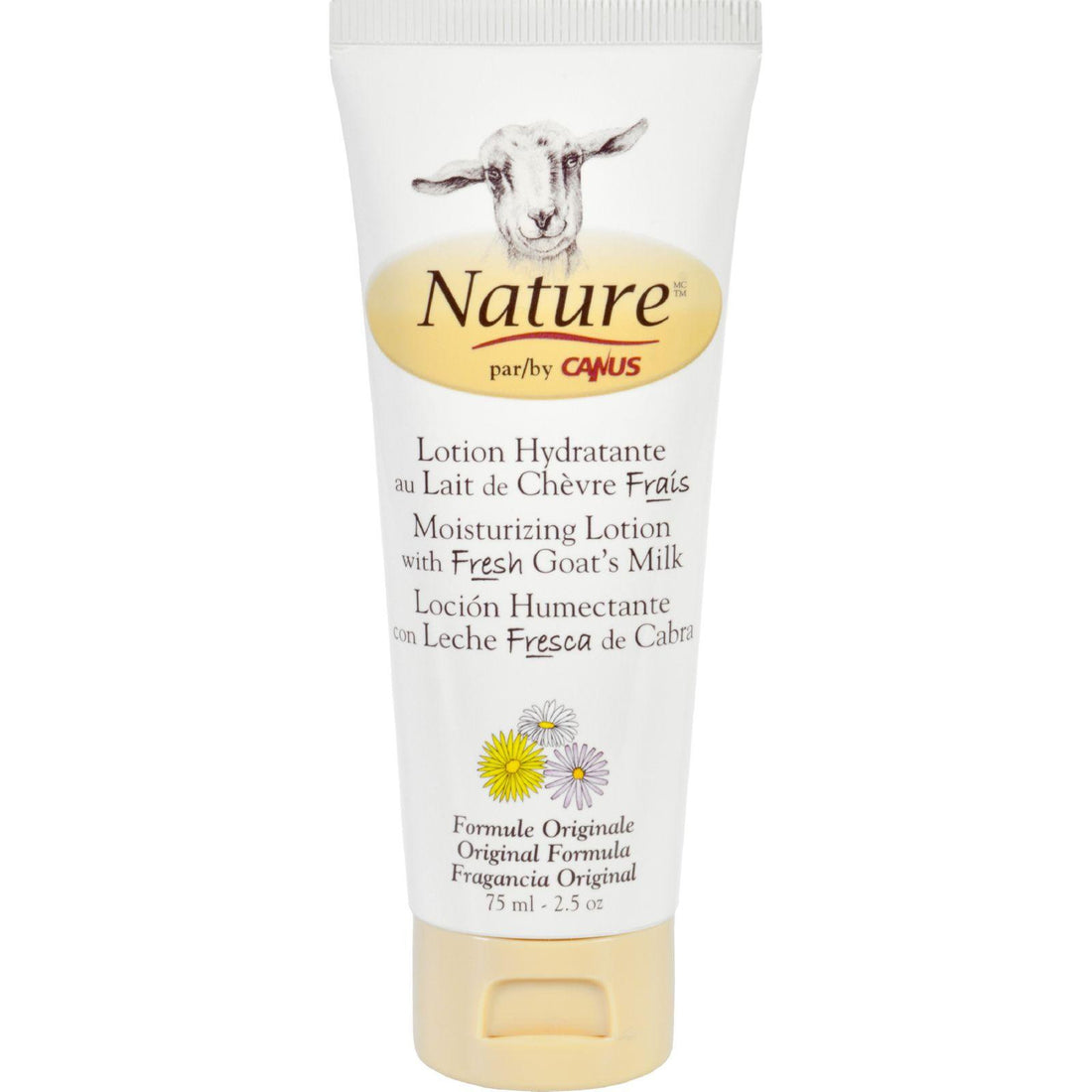Mother Mantis: Nature By Canus Lotion - Goats Milk - Nature - Original Formula - 2.5 Oz Nature By Canus