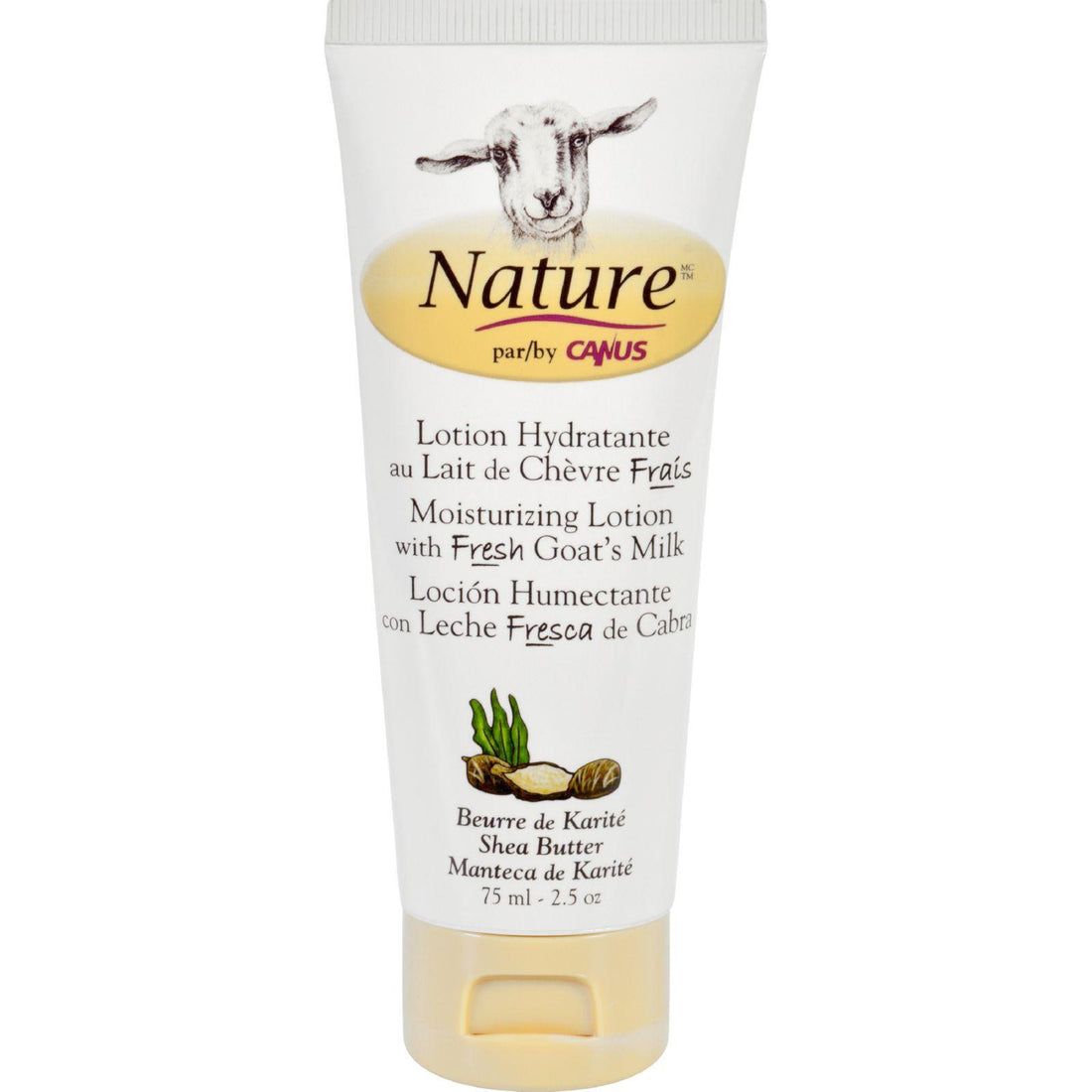 Mother Mantis: Nature By Canus Lotion - Goats Milk - Nature - Shea Butter - 2.5 Oz Nature By Canus