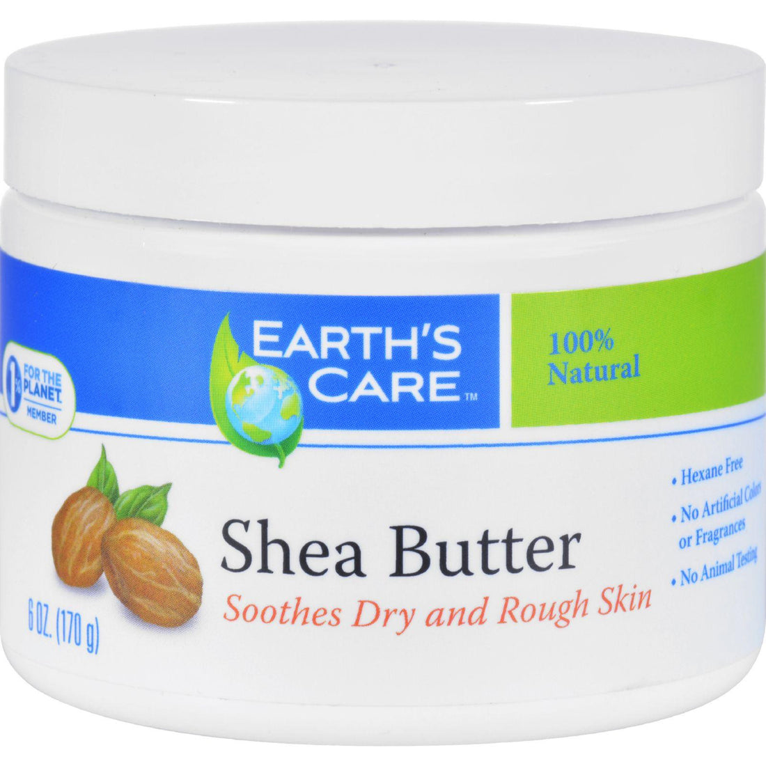 Mother Mantis: Earth's Care Shea Butter - 100 Percent Pure - Natural - 6 Oz Earth's Care