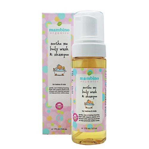 Mother Mantis: Mambino Organics Baby Kids Wash And Shampoo - Soothe Me - 5.5 Fl Oz Mambino Organics