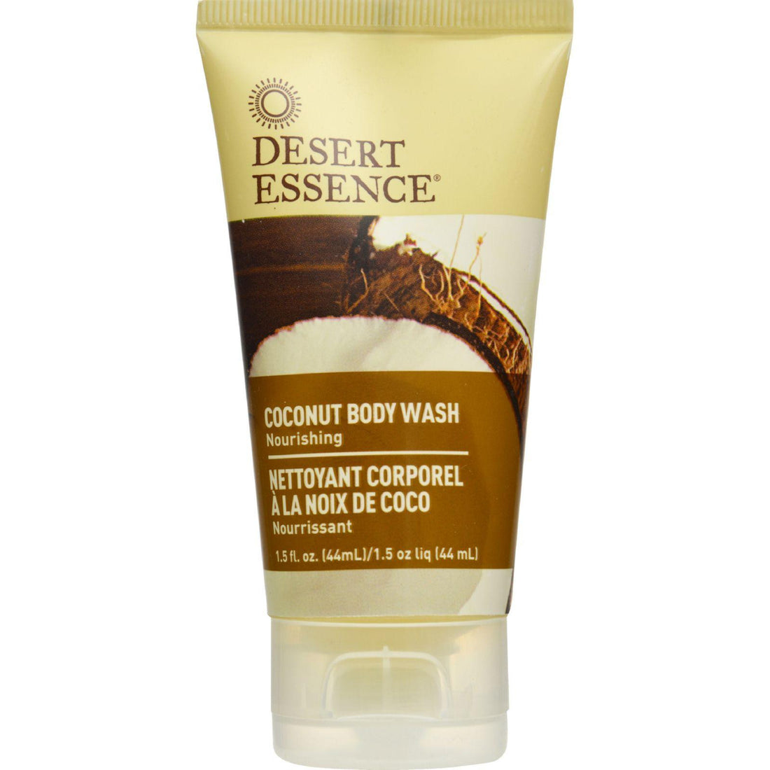 Mother Mantis: Desert Essence Body Wash - Coconut - Travel Size - 1.5 Fl Oz - 1 Case Desert Essence