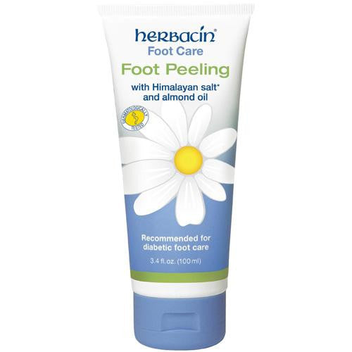 Mother Mantis: Herbacin Kamille Foot Peeling - With Himalayan Salt Almond Oil - 3.4 Fl Oz Herbacin Kamille