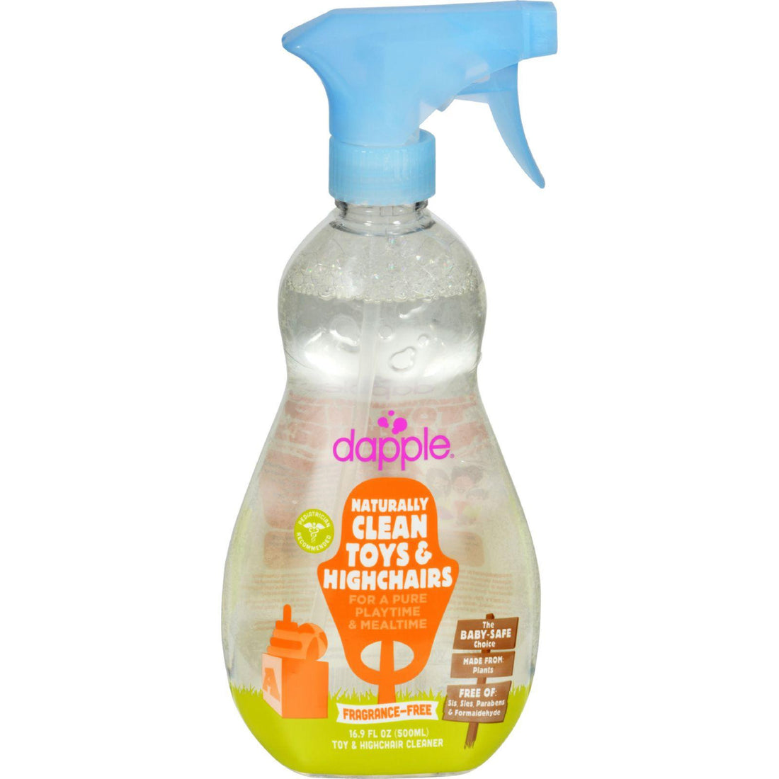 Mother Mantis: Dapple Toy And High Chair Cleaner - Fragrance Free - 16.9 Fl Oz Dapple