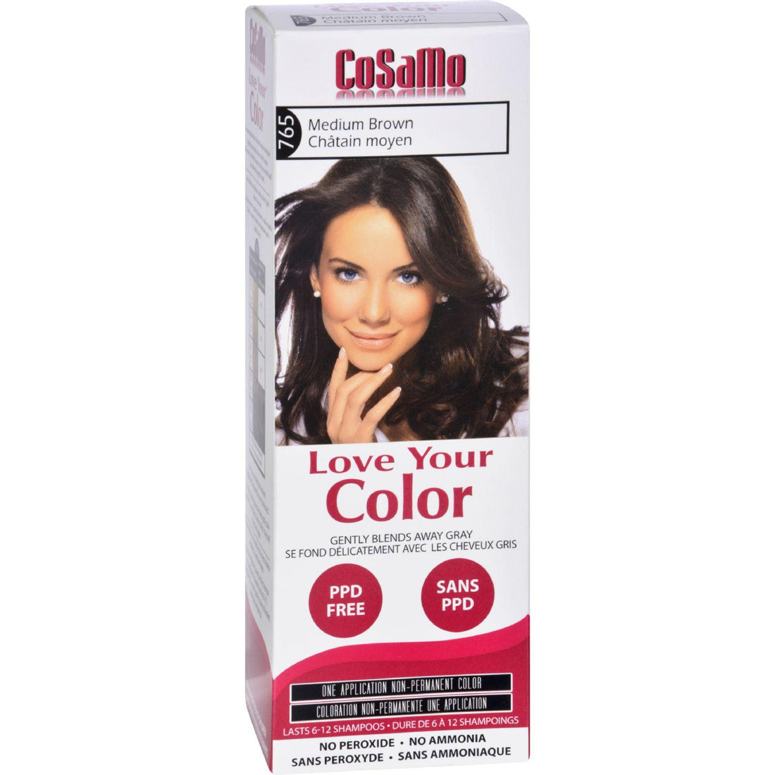 Mother Mantis: Love Your Color Hair Color - Cosamo - Non Permanent - Medium Brown - 1 Ct Love Your Color