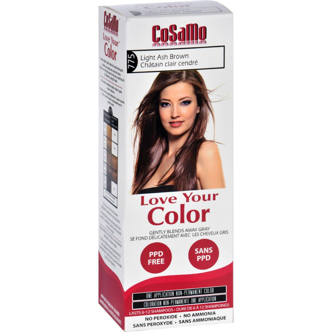 Mother Mantis: Love Your Color Hair Color - Cosamo - Non Permanent - Lt Ash Brown - 1 Ct Love Your Color