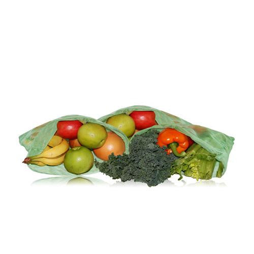 Mother Mantis: Blue Avocado Reusable Produce Bag - Green - 3 Pack Blue Avocado