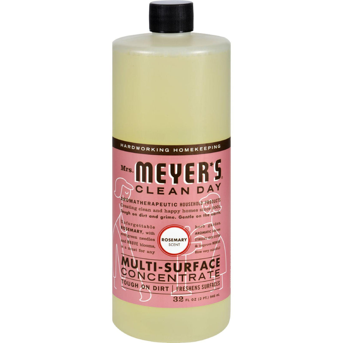 Mother Mantis: Mrs. Meyer's Multi Surface Concentrate - Rosemary - 32 Fl Oz Mrs. Meyer's