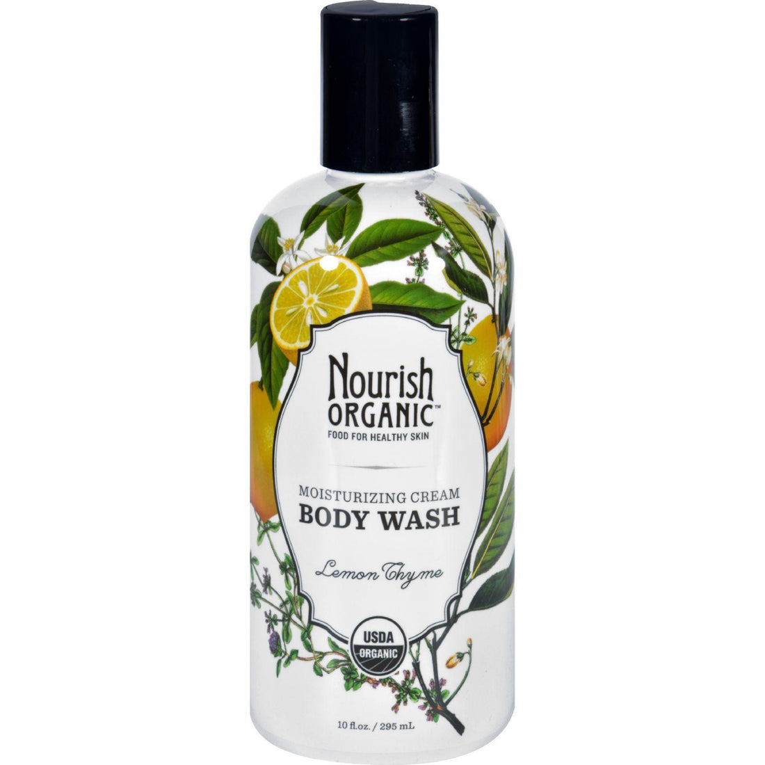 Mother Mantis: Nourish Body Wash - Organic - Lemon Thyme - 10 Fl Oz Nourish