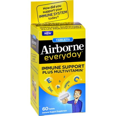 Airborne Everyday Multivitamin Tablets - 60 Tablets Airborne