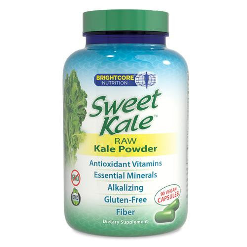 Mother Mantis: Brightcore Nutrition Kale Powder - Sweet - 90 Vegan Capsules Brightcore Nutrition/swt