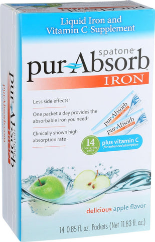 Nelsons Pur Absorb Iron - Apple - 14 Count Nelsons