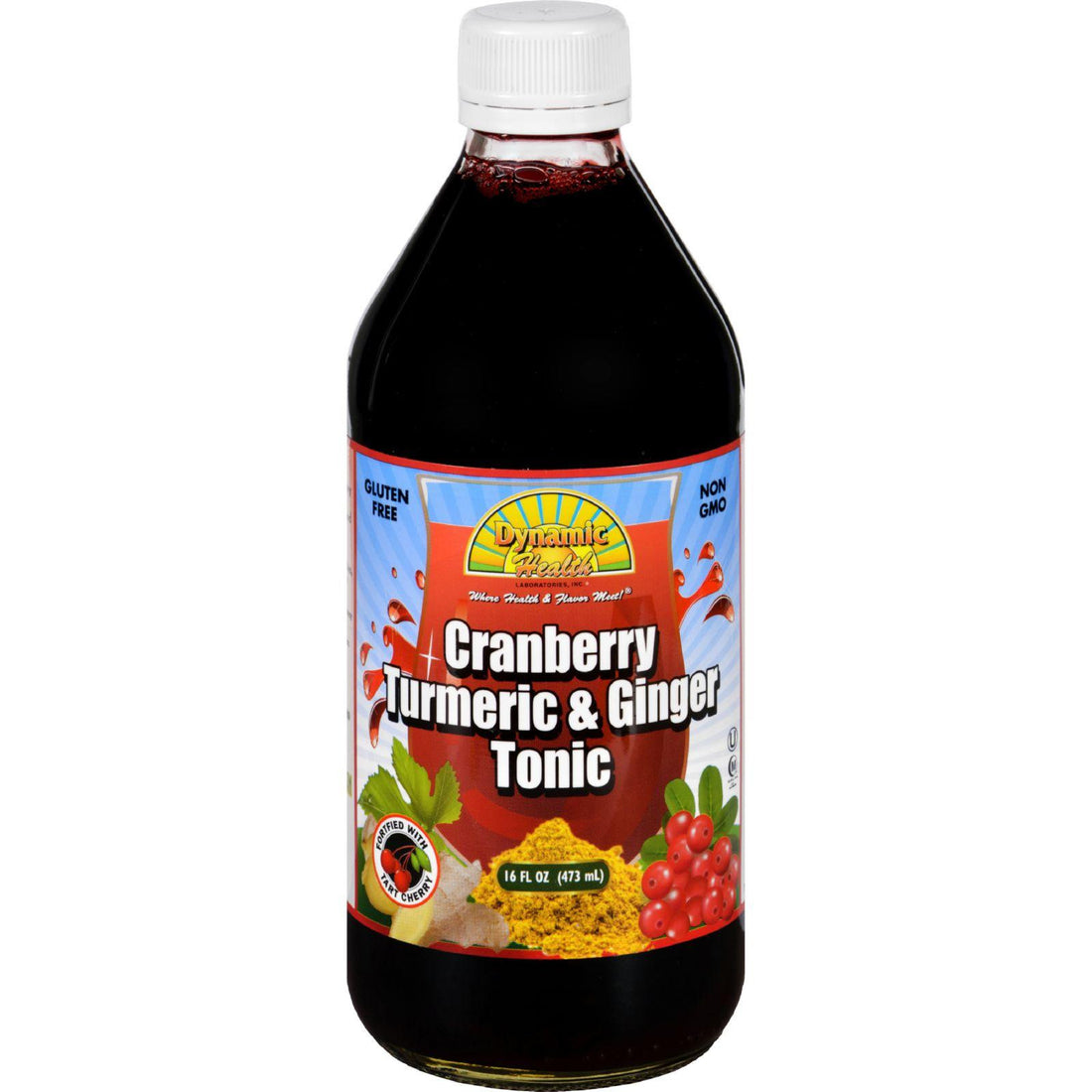 Mother Mantis: Dynamic Health Tonic - Cranberry Turmeric And Ginger - 16 Oz Dynamic Health