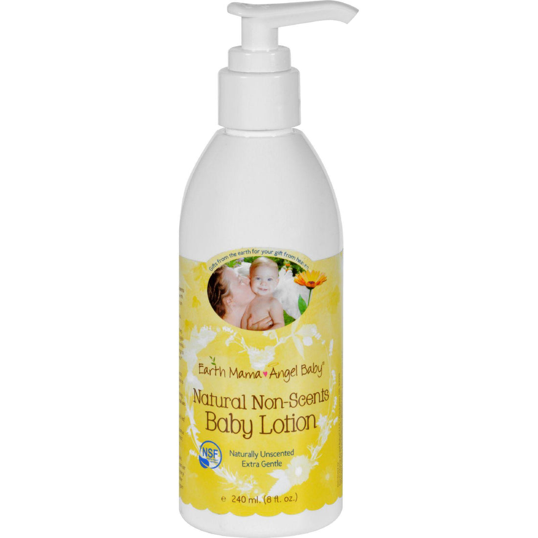 Mother Mantis: Earth Mama Angel Baby Lotion - Natural Non-scents - Fragrance Free - 8 Oz Earth Mama Angel Baby