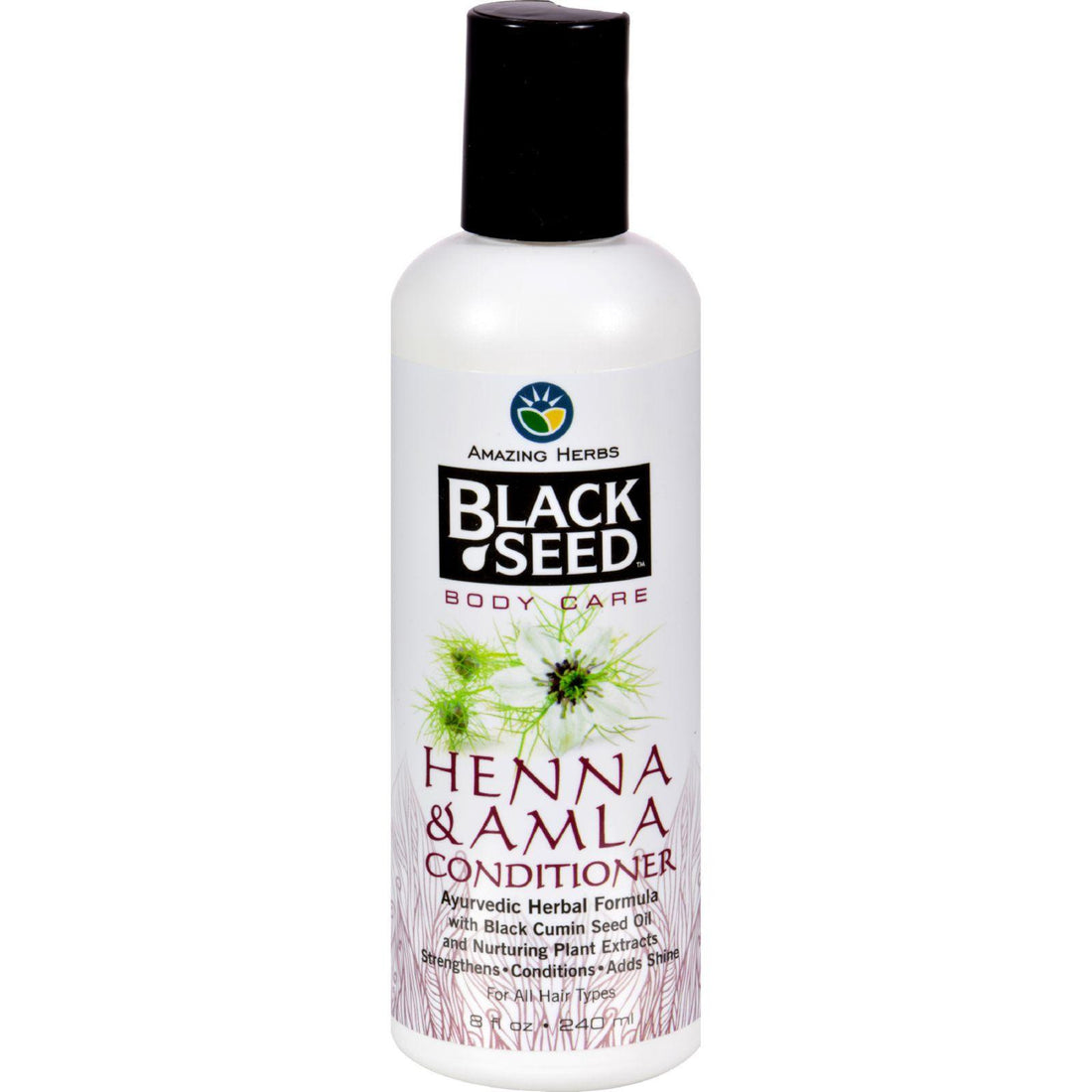 Mother Mantis: Black Seed Conditioner - Henna And Amla - 8 Oz Black Seed