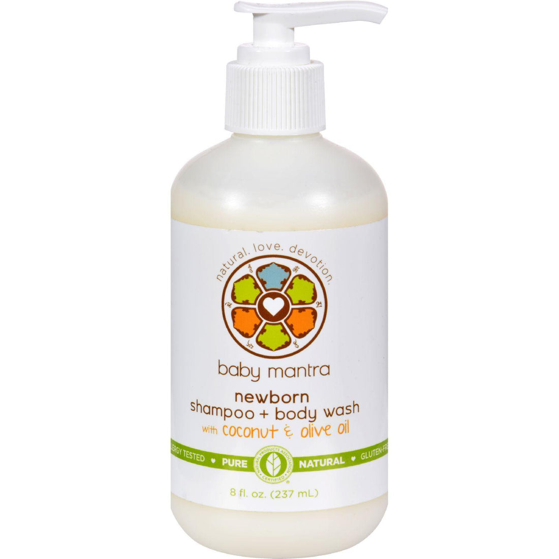 Mother Mantis: Baby Mantra Shampoo And Body Wash - Newborn - 8 Oz Baby Mantra