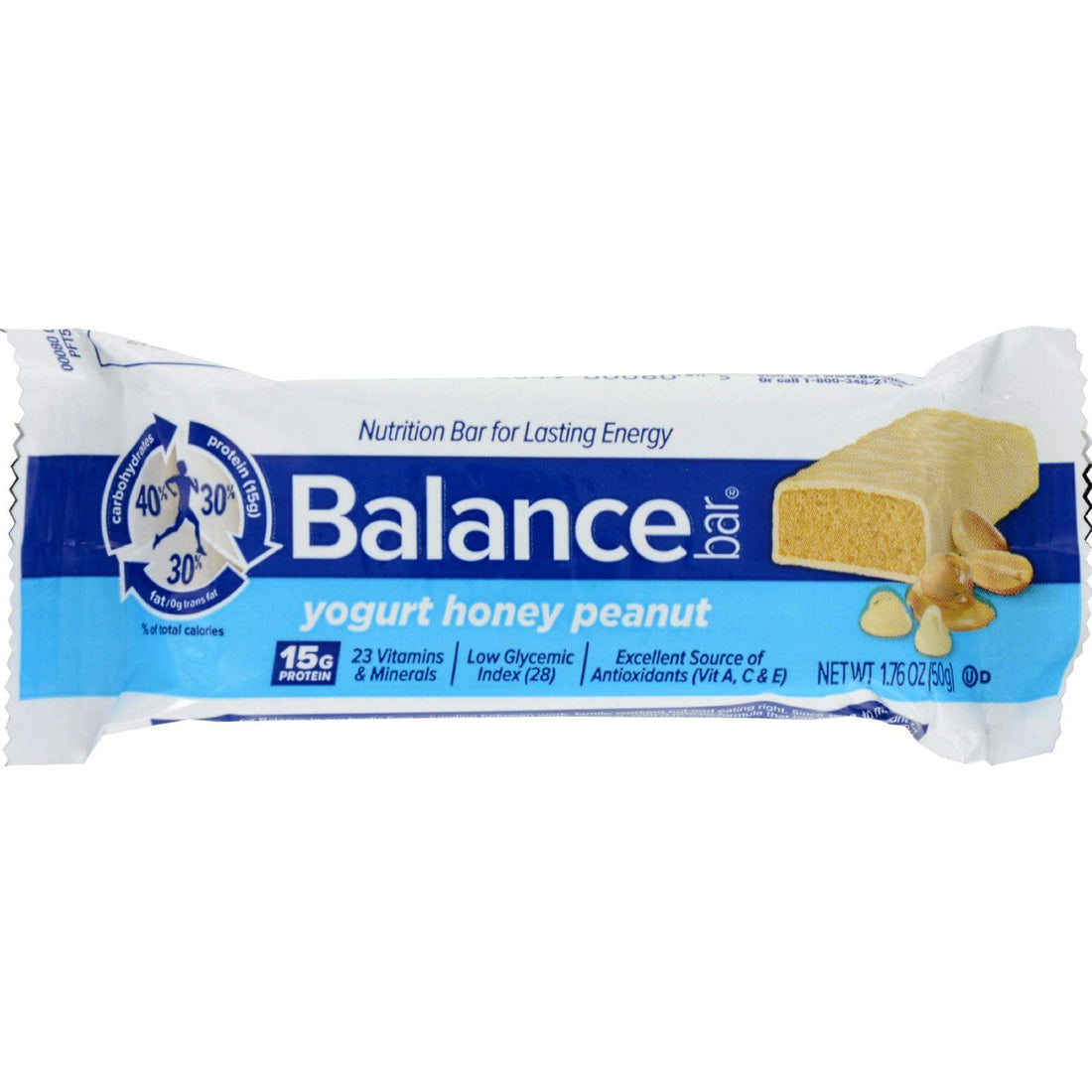 Mother Mantis: Balance Bar - Yogurt Honey Peanut - 1.76 Oz - Case Of 6 Balance Bar