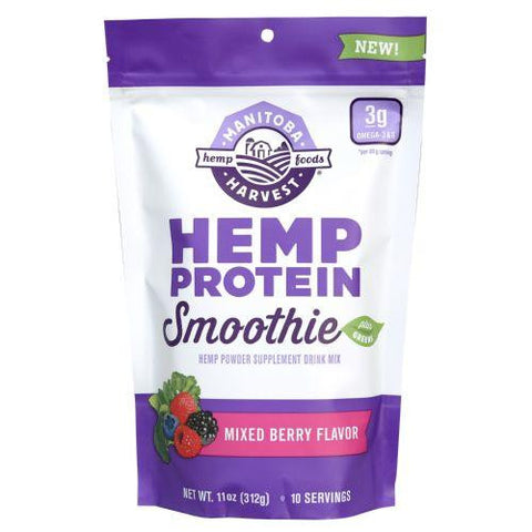 Manitoba Harvest Hemp Protein Smoothie - Berry - 11 Oz Manitoba Harvest