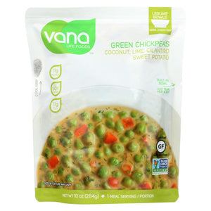 Green Chickpeas; Coconut Lime Vana Life Foods