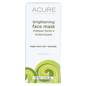 Acure Facial Mask - Cell Stimulating - 1.75 Fl Oz. Acure