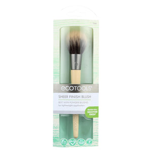 Eco Tool Makeup Brush - Sheer Finish Blush - Case Of 2 - 1 Count Eco Tool